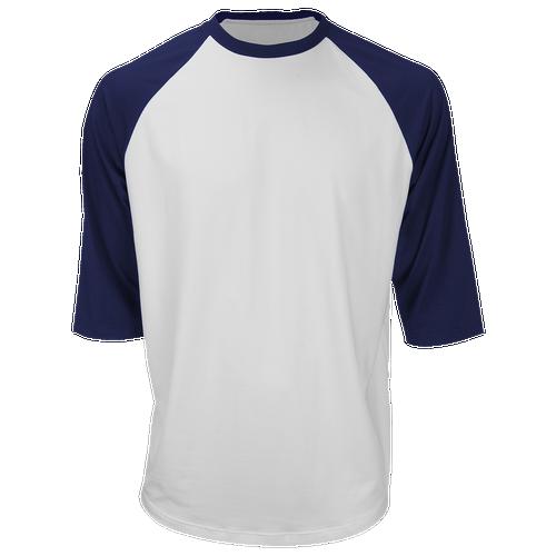 Marucci 3/4 Performance T-Shirt - Men's Baseball - Navy 286652NB