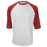 Marucci 3/4 Performance T-Shirt - Men's - Red / White