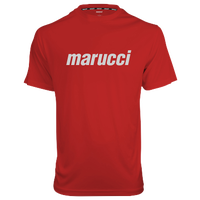 Marucci Dugout T-Shirt - Men's - Red / White