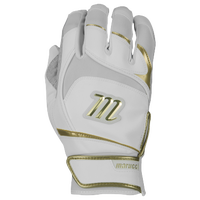 Marucci Pittards Signature Batting Gloves - Men's - White / Gold