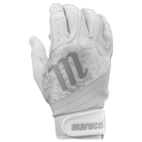 Marucci Pure Fastpitch Batting Gloves - Women's - White / Grey