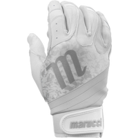 Marucci Pure Fastpitch Batting Gloves - Girls' Grade School - White / Grey