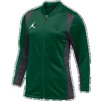 79ef4553b87 Jordan Team Basketball Flight Knit Jacket - Women's - Dark Green / Grey