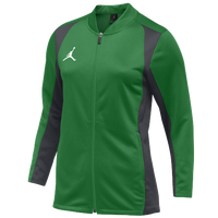 Jordan Team Basketball Flight Knit Jacket - Women's - Green / Grey
