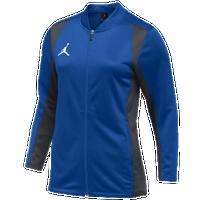 369f869ac662 Jordan Team Basketball Flight Knit Jacket - Women s - Blue   Grey
