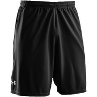 "Under Armour Team Coaches 9.5"" Shorts - Men's - All Black / Black"