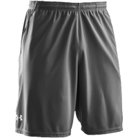 "Under Armour Team Coaches 9.5"" Shorts - Men's - Grey / Grey"