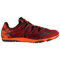 Saucony Carrera XC3 Flat - Men's - Red / Orange