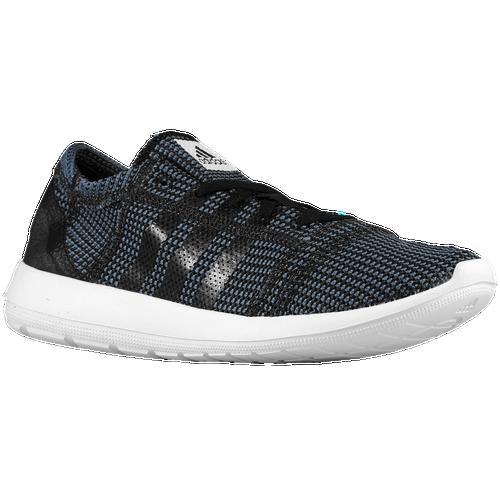 Adidas Boys Grade School Element Refine - Black/White/Black