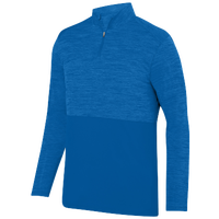 Augusta Sportswear Team Heather 1/4 Zip Pullover - Men's - Blue / Blue