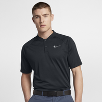 Nike Dry Momentum Blade Golf Polo - Men's - Black / Black