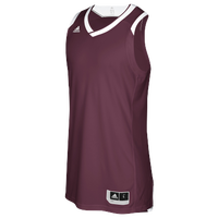 adidas Team Crazy Explosive Jersey - Men's Basketball - Maroon/White 2931403
