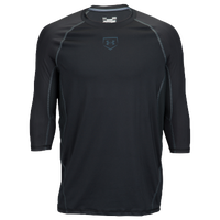Under Armour Zonal 3/4 Compression T-Shirt - Men's - Black / Grey