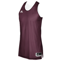 adidas Team Crazy Explosive Reversible Jersey - Men's - Maroon / White
