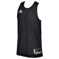 adidas Team Crazy Explosive Reversible Jersey - Boys' Grade School - Black / White