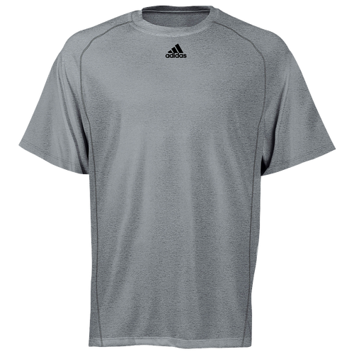 adidas Team Climalite Short Sleeve T-Shirt - Men's - For All Sports -  Clothing - Ash Grey Heathered
