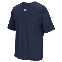 adidas Team Climalite Short Sleeve T-Shirt - Men's - Navy / Navy