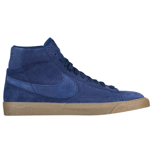 low cost 02457 3f3ac Nike Blazer Mid Mens Basketball Shoes Binary Blue Binary ...
