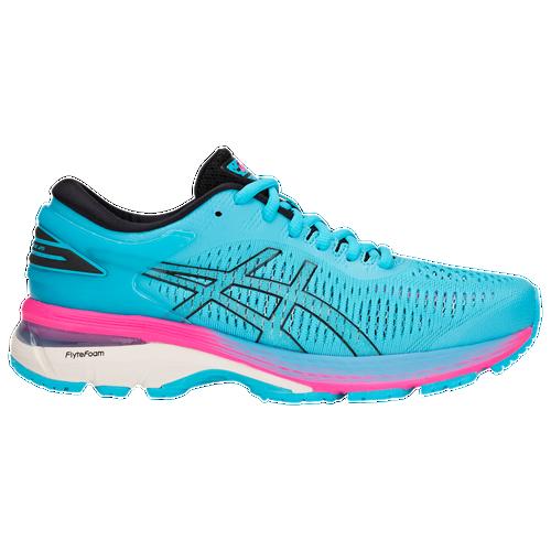 asics gel kayano 25 women s running shoes aquarium black