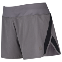 "ASICS® 3"" Run Shorts - Women's - Grey"