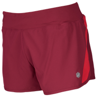 "ASICS® 3"" Run Shorts - Women's - Maroon"