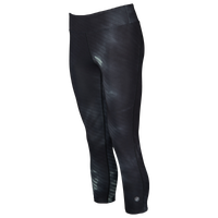 ASICS® Graphic 3/4 Tights - Women's - All Black / Black
