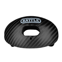 Battle Sports Oxygen Mouthguard - Adult - Black / Black