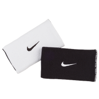 Nike Dri-Fit Home & Away Doublewide Wristbands - Men's - White / Black