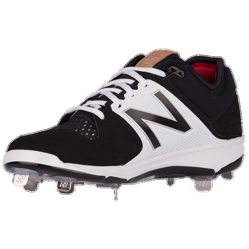 New Balance 3000V3 Metal Low - Men's Baseball - Black/White 3000BK23