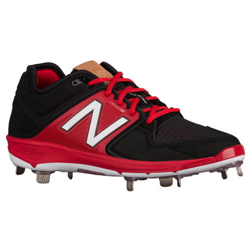 New Balance 3000V3 Metal Low - Men's Baseball - Black/Red 3000BR23