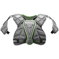 Maverik Lacrosse MX Shoulder Pad - Men's - Grey / Light Green