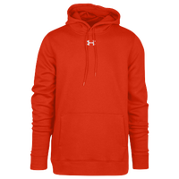 Under Armour Team Hustle Fleece Hoodie - Men's - Orange / Orange