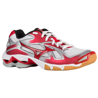 Mizuno Wave Bolt 5 - Women's - White / Red