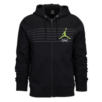 Jordan Flight Graphic Fleece Full-Zip Men's Hoodie