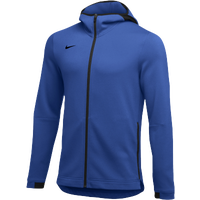 Nike Team Dry Showtime Full-Zip Hoodie - Men's - Blue / Black