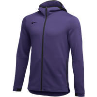 Nike Team Dry Showtime Full-Zip Hoodie - Men's - Purple / Black