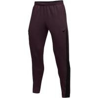 Nike Team Dry Showtime Pants - Men's - Maroon / Black