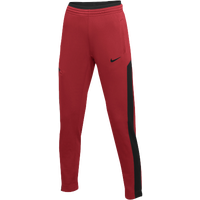 Nike Team Dry Showtime Pants - Women's - Red / Black