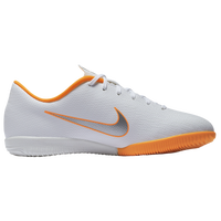 Nike Mercurial Vapor 12 Academy IC - Boys' Grade School - White / Orange