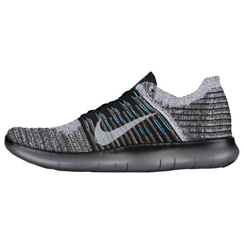 Nike Shoes Dillards.com; Nike Free RN Flyknit - Mens - Running - Shoes -  Cargo KhakiBlue GlowDark GreyBlack