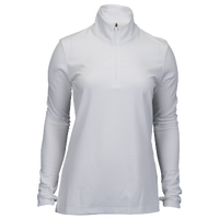 Nike Nike Azalea 1/2 Zip 3.0 - Women's - All White / White