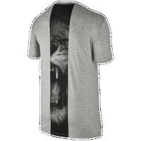 lebron merch. Nike LeBron Art T-Shirt - Men\u0027s James Grey / Black Lebron Merch