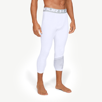Under Armour HG Armour 2.0 3/4 Compression Tights - Men's - White