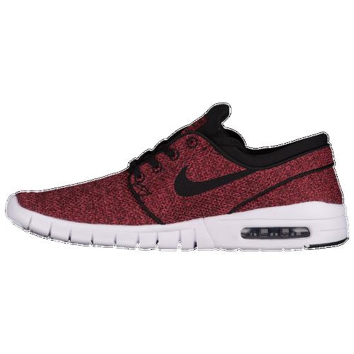Nike SB Stefan Janoski Max - Men's - Skate - Shoes - Track  Red/Black/Cedar/Bright Mandarin