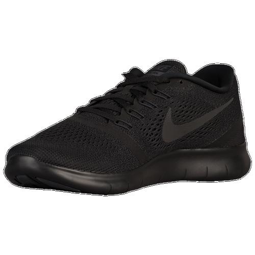 Nike Free RN Mens 831508-002 Triple Black Mesh Athletic Running Shoes Size 7.5