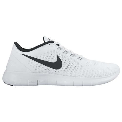 Nike Free RN - Women's - Running - Shoes - White/Black