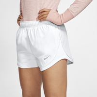 "Nike Dri-FIT 3.5"" Tempo Shorts - Women's - All White / White"