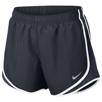 "Nike Dri-FIT 3.5"" Tempo Shorts - Women's - Navy / White"