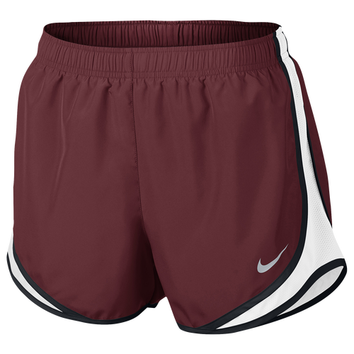 "Nike Dri-FIT 3.5"" Tempo Shorts - Women's - Clothing - Team Red/White/Black/Wolf Grey"
