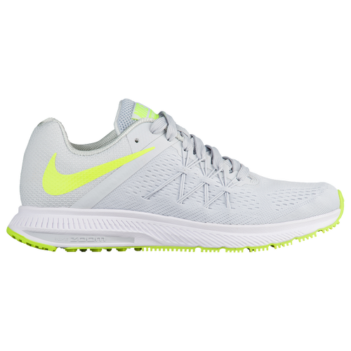 the latest fc820 bf7e5 ... sweden nike air zoom winflo 3 womens running shoes pure platinum volt white  white 0e5fe f4026